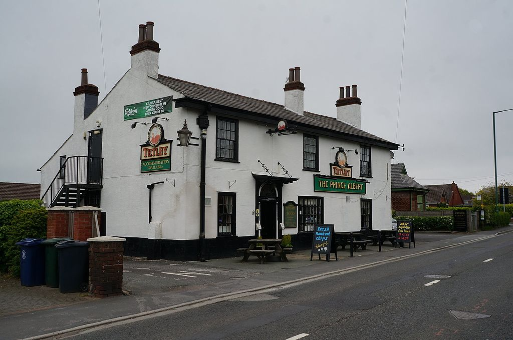 Creative Commons image of The Prince Albert in Ormskirk
