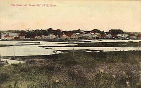 The River and Town, Scituate, MA.jpg