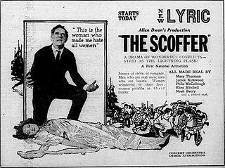 <i>The Scoffer</i> 1920 film by Allan Dwan