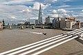 The Shard seen from Millennium Bridge (21162610516).jpg