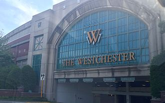 The Westchester - The Westchester Vehicle Entrance before the 2016 renovation