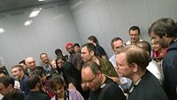 The Wikimania 2015 Reception at Museo Soumaya by ovedc 06.jpg