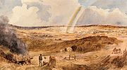 The end of rainbow, Golden Square, 1857, George Rowe