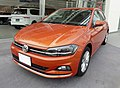 The frontview of Volkswagen Polo TSI Highline (ABA-AWCHZ).jpg