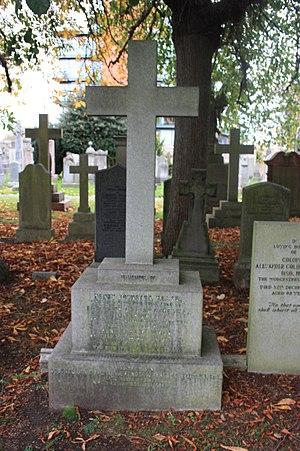 Duncan Johnston - The grave of Sir Duncan Johnston, Dean Cemetery, Edinburgh