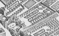 The grounds of the Hôtel de Matignon from the Turgot map of Paris circa 1737.png