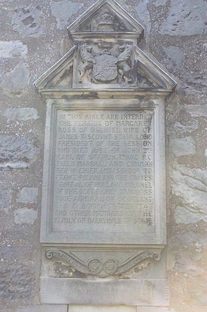 John Dalrymple, 2nd Earl of Stair - The monument to John Dalrymple, 2nd Earl of Stair, Kirkliston