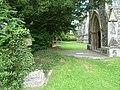 The north doorway of All Saints Church, Benhilton (geograph 3013873).jpg