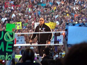 WrestleMania XXVII - The Rock was the special guest host for WrestleMania XXVII