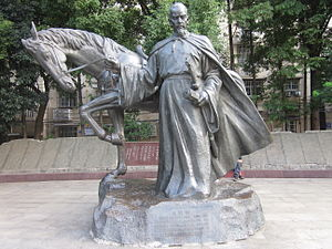 The statue of Xin Qiji.JPG
