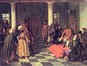 Theodor Aman - Vlad the Impaler and the Turkish Envoys.jpg