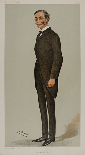 Thomas Sanderson, 1st Baron Sanderson - Image: Thomas Henry Sanderson Vanity Fair 10 November 1898