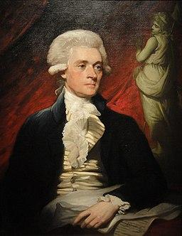 Thomas Jefferson by Mather Brown, 1786 - DSC03165