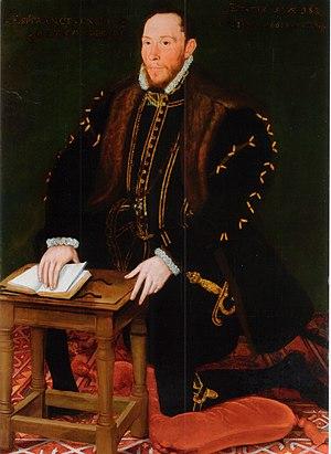 Thomas Percy, 7th Earl of Northumberland - Thomas Percy, Earl of Northumberland by Steven van der Meulen, 1566.