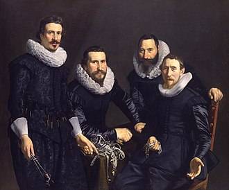 Thomas de Keyser - Thomas de Keyser - Syndics of the Amsterdam Goldsmiths Guild