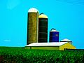Three Silos Farm two are Harvestore® Slios - panoramio.jpg