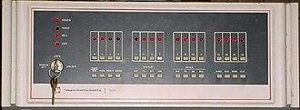 TI-990 - TI-990 programmers panel.