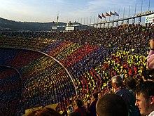 spectateurs dans un stade
