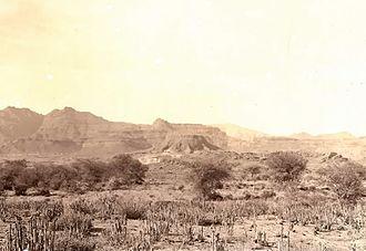 Tihamah - The Tihamah coastal plain in the south of Yemen, 1931
