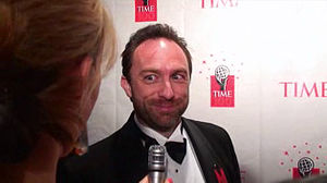 Rocketboom - Image: Time 100 Jimmy Wales stares and grins