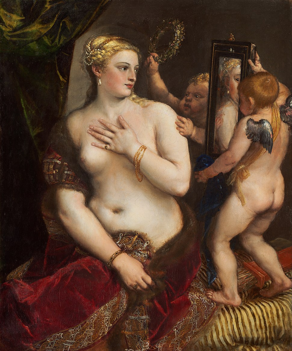 Titian - Venus with a Mirror - Google Art Project