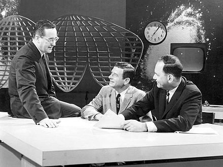 John Chancellor, Frank Blair and Edwin Newman in The Today Show, 1961. Today show 1961.JPG