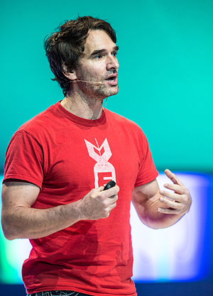 Todd Sampson - Sampson presenting at the Melbourne Convention and Exhibition Centre for Open Space on 20 February 2014