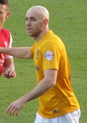 Tom Newey - Newey playing for Oxford United in 2013