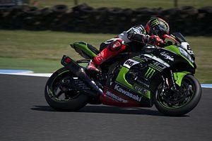 Tom Sykes - Sykes at the 2017 Australian World Superbike round, Phillip Island