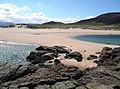 Tombolo at Sandwood bay - geograph.org.uk - 827738.jpg