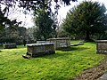 Tombs, St Mary's Church, Lower Blandford St Mary - geograph.org.uk - 1174311.jpg