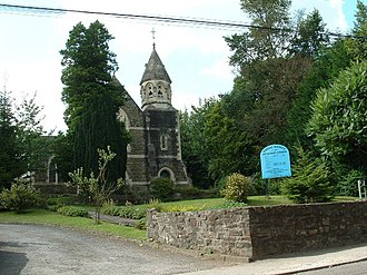 Tondu - Image: Tondu Wesley Methodist church