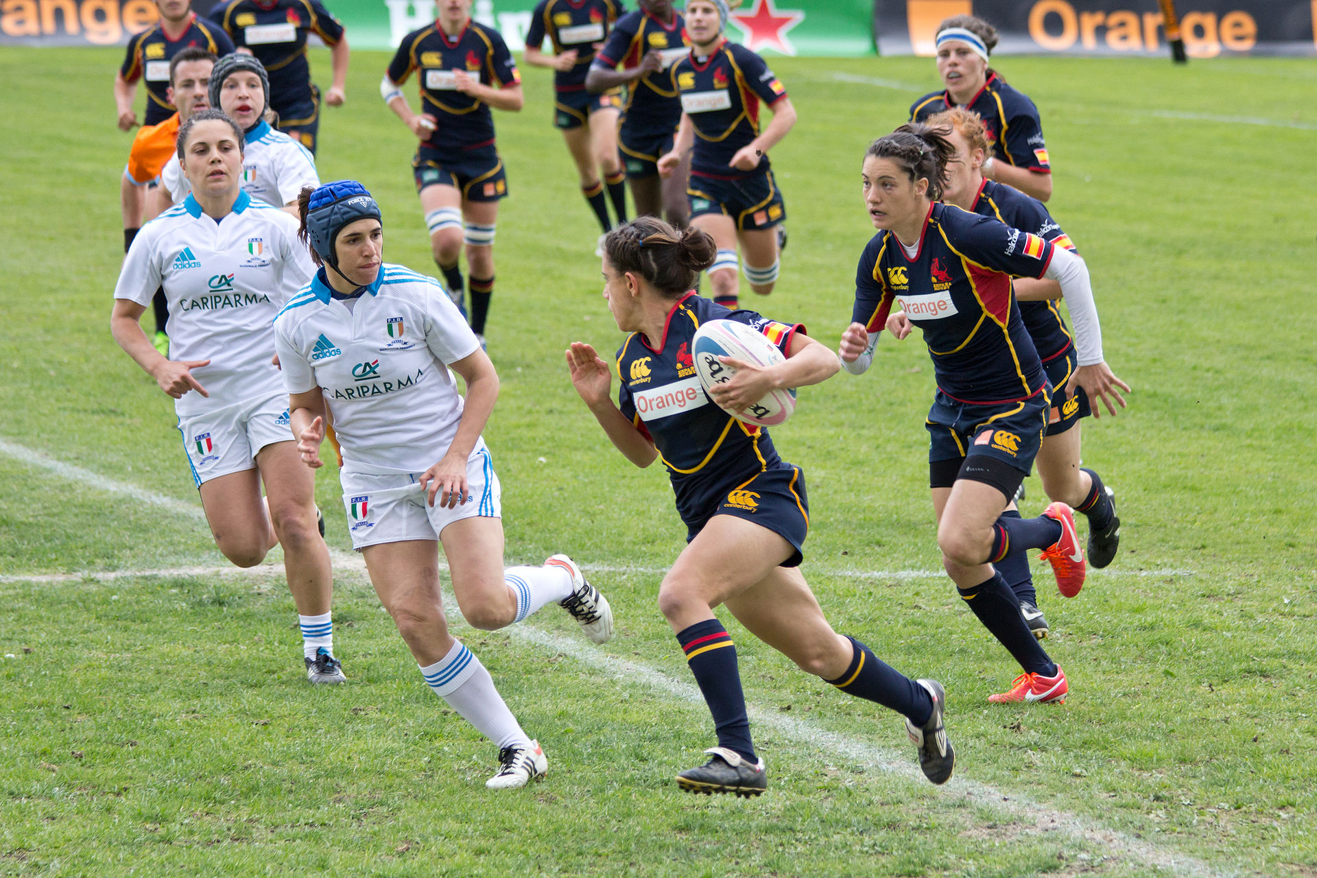 Women S Rugby Union Wikipedia