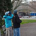 Tourists with binoculars in Pittsburgh.jpg