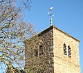 Tower and weather vane, Holy Rood, Mordiford - geograph.org.uk - 1060984.jpg