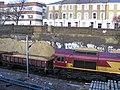 Track work at Mildmay Grove, N1. EWS No. 66 189 , Dec 2009.jpg