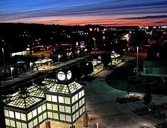 Auburn, Washington - Image: Train 07