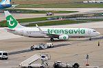 Transavia France, F-HTVB, Boeing 737-8K (27852696143).jpg