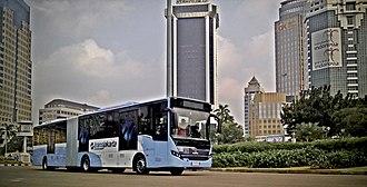 Scania K-series - TransJakarta Scania K320IA Euro VI (CNG)