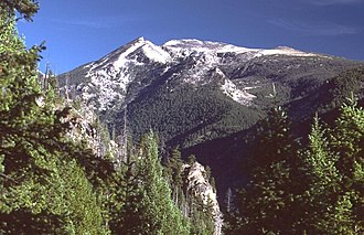 Bitterroot Mountains - Trapper Peak, in the Central Bitterroot Range