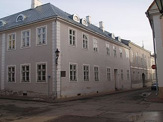 Hugo Treffner Gymnasium - The restored southwest wing of the school