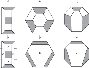Trefoil subdivision rule