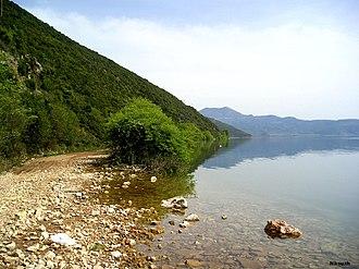 Lake Trichonida - Image: Trichonida