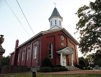 Franklin Park, Pennsylvania - Trinity German Evangelical Lutheran Church