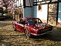 Triumph Spitfire 1500 with hardtop and luggage rack - rear.jpeg