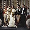 Troonswisseling 30 april inhuldiging in Nieuwe Kerk overzicht (6x6) duplicaa, Bestanddeelnr 253-8205.jpg