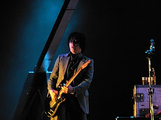 Troy Van Leeuwen - Van Leeuwen performing with Queens of the Stone Age at the Southside Festival near Tuttlingen, southern Germany, June 24, 2007