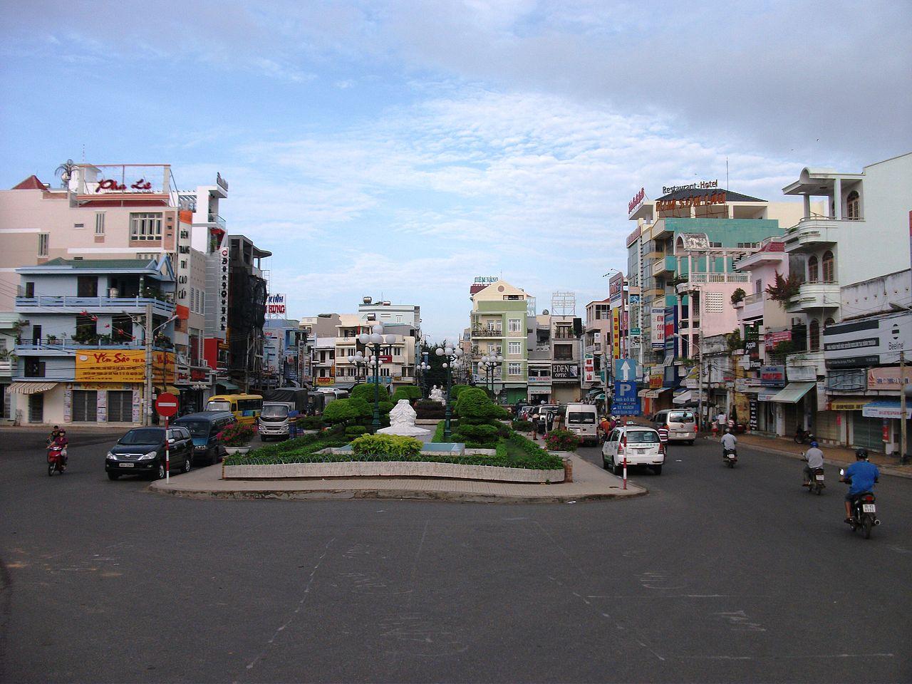 Trung tâm TP. Phan Thiết. Ảnh Wikipedia