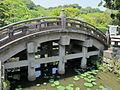 Tsurugaoka hachimangu, ponte.JPG