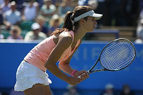 Tsvetana Pironkova at the 2011 AEGON International.jpg